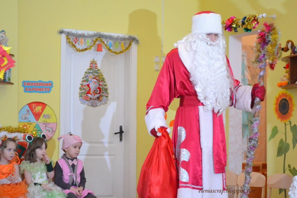 Дед Мороз и Снегурочка в детский садик