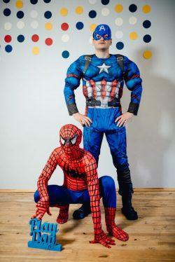 Супергерои на детский праздник
