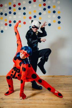 Леди Баг и Супер Кот аниматоры на праздник